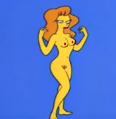 from Jonael the simpsons mindy naked