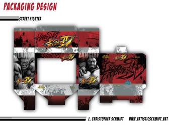 Street Fighter Pint Packaging by ArtisticSchmidt