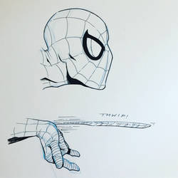 Spiderman Sketch by ArtisticSchmidt