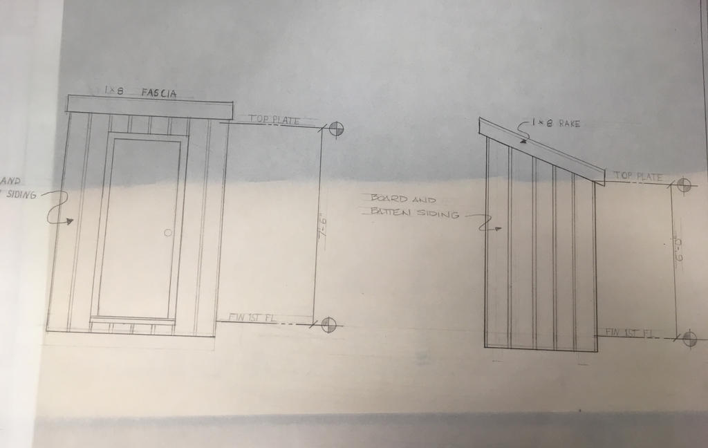 Shed Elevation (front, right) by Luna748Fire