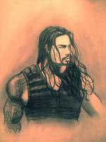 My Roman Reigns Drawing by RKOGurlLOVESAJLEE