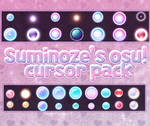 Suminoze's osu! cursor pack by lovelymin