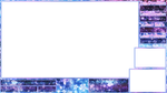 Purple / Blue / Pink FREE osu! stream Overlay 900p by lovelymin