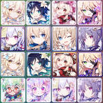 Genshin Impact osu! avatar pack