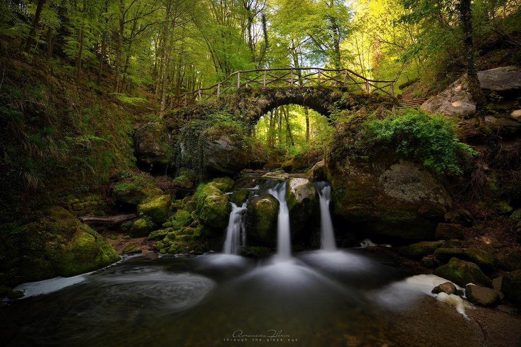Schiessentumpel waterfall by FlorinALF