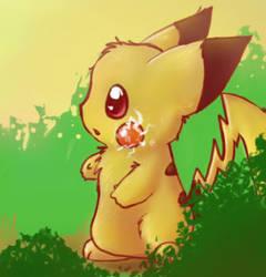 Pikachu by Miraris