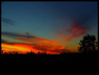 fire in the sky by Maiki-T