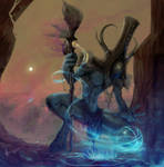 Martian Shaman (Artist Avatar Challenge)
