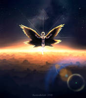 Angel V - Ascension by AustrealisInk
