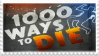 1000 Ways to Die Stamp by Apple-Panties