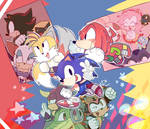 we are sonic HEROES