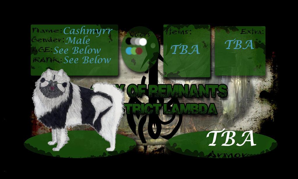 COR: Cashmyrr Character App by Celestia912