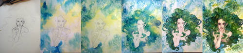 process: the dryad by H-Johanna