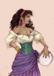 Esmeralda by H-Johanna