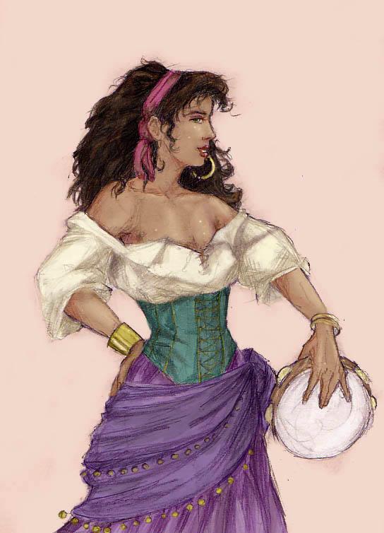 Esmeralda Disney Girls