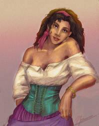 disney's Esmeralda by H-Johanna