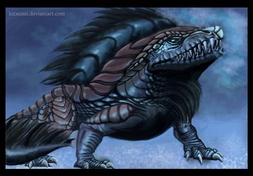 Juvenile Ice Drake ~ Guild Wars 2