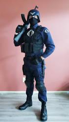 Cobra Officer Cosplay