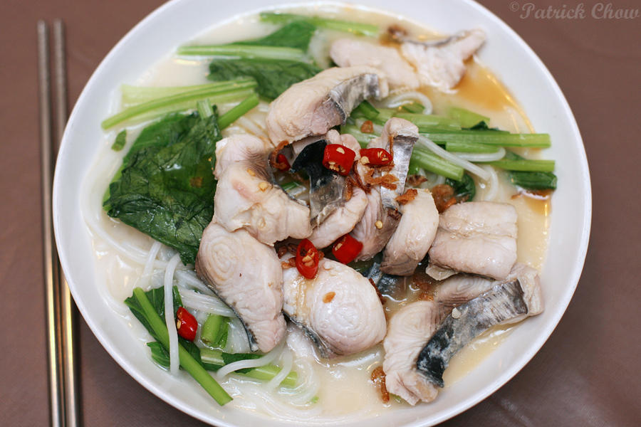 Cook with no books sliced fish rice noodles for How to make fishing noodles