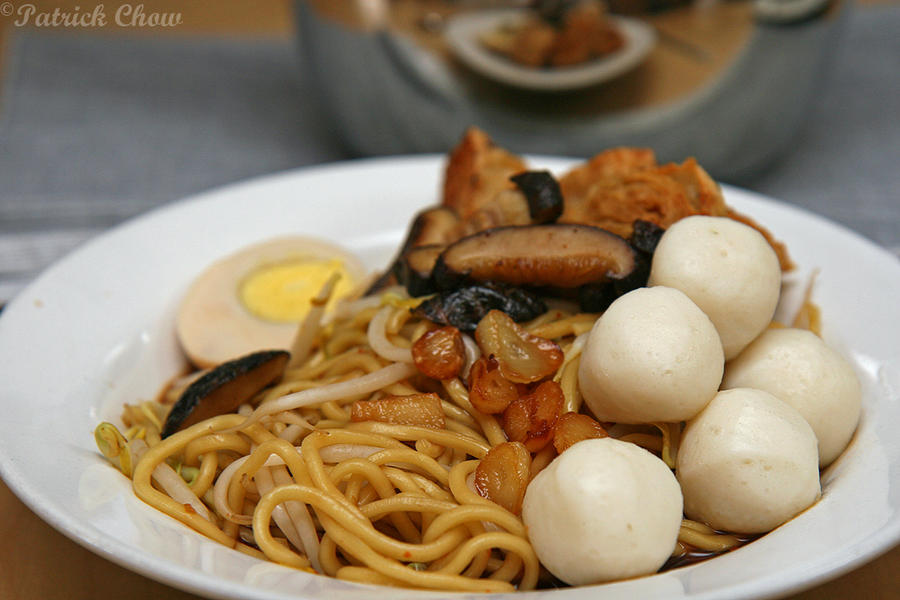 how to make fish ball noodles