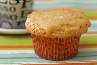 Peanut butter cupcakes by patchow