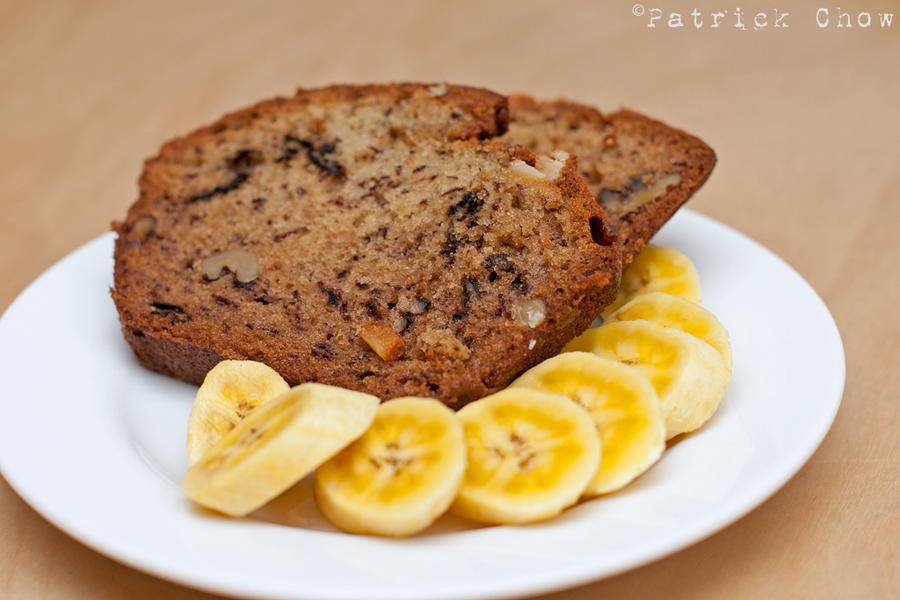 How Long To Cook A Banana Cake At  F