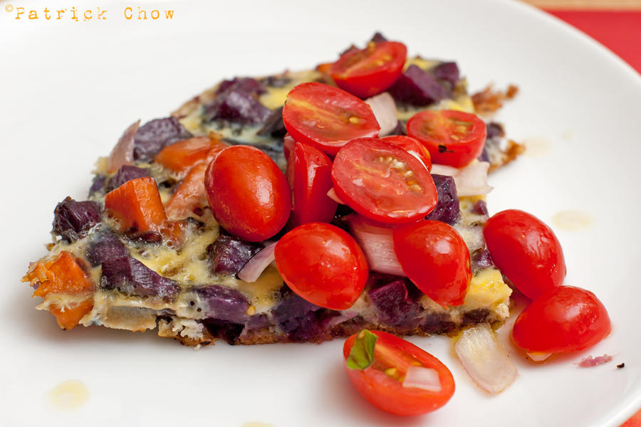 Sweet potato frittata 2 by patchow