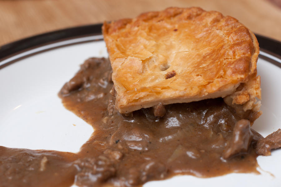 Steak and ale pie by patchow on deviantART