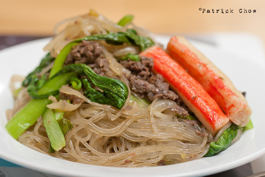 Beef glass noodles 1 by patchow