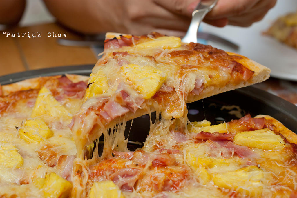 Hawaiian pizza 2 by patchow
