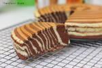 Zebra cheesecake 2