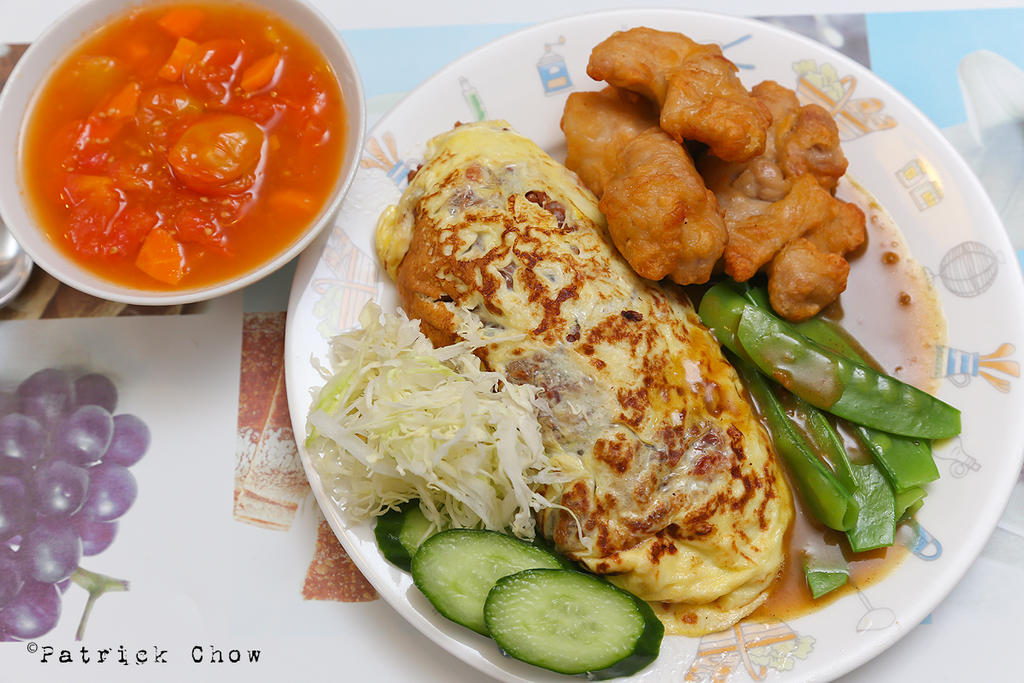 Omurice meal by patchow