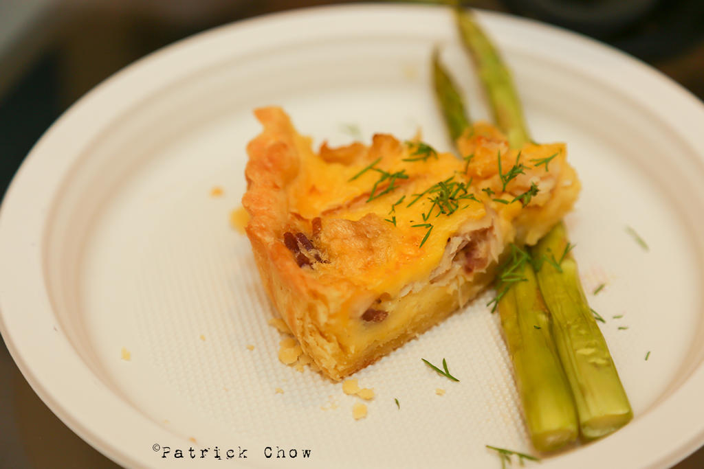 Smoked haddock quiche by patchow