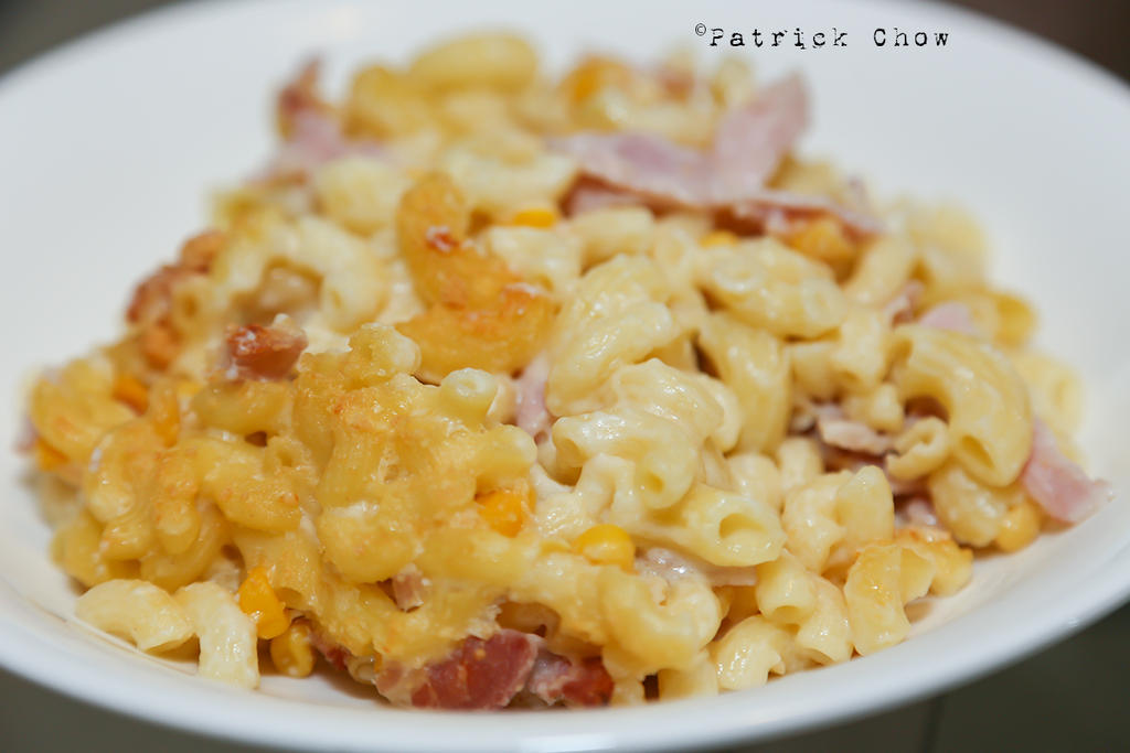 Macaroni cheese by patchow