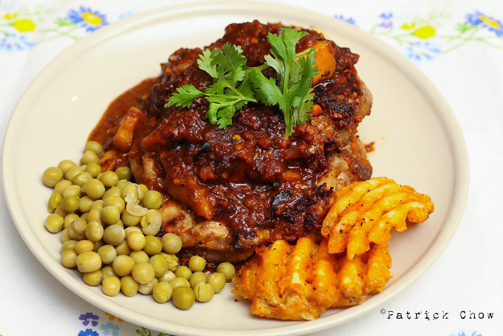 Chicken chop by patchow