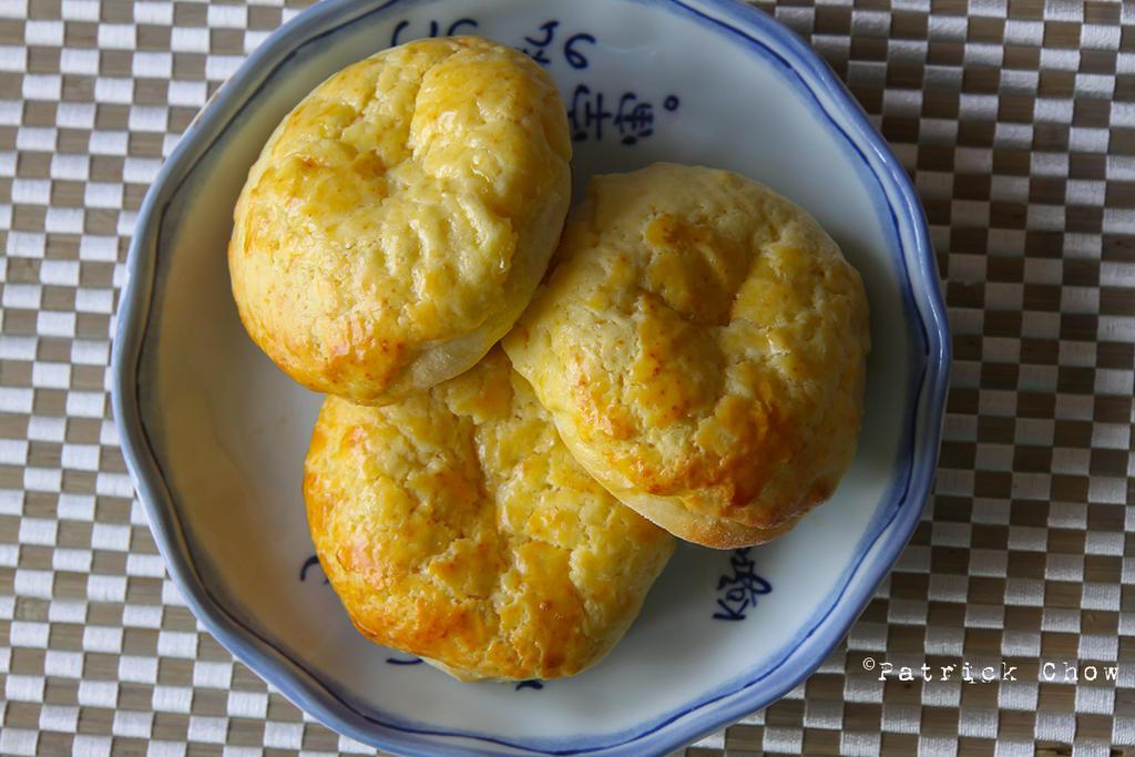 Salted egg yolk custard bun 1 by patchow