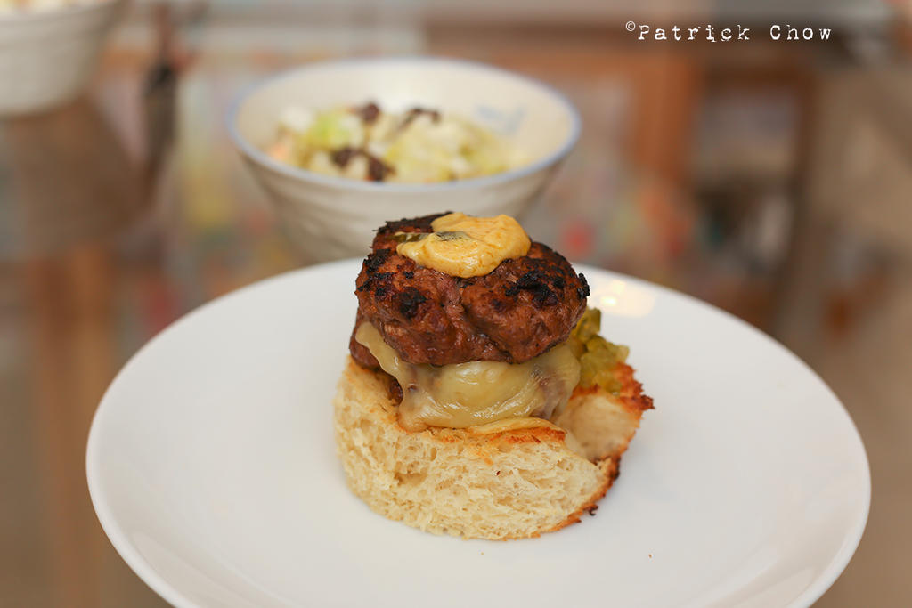 Beef burger by patchow