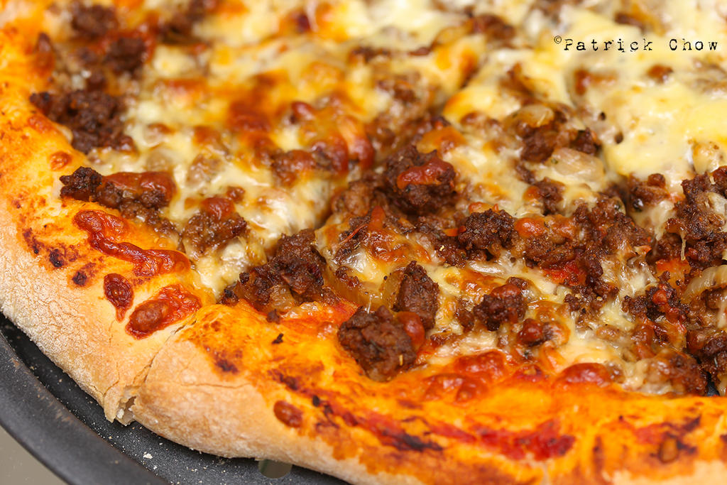 Minced beef pizza 1 by patchow