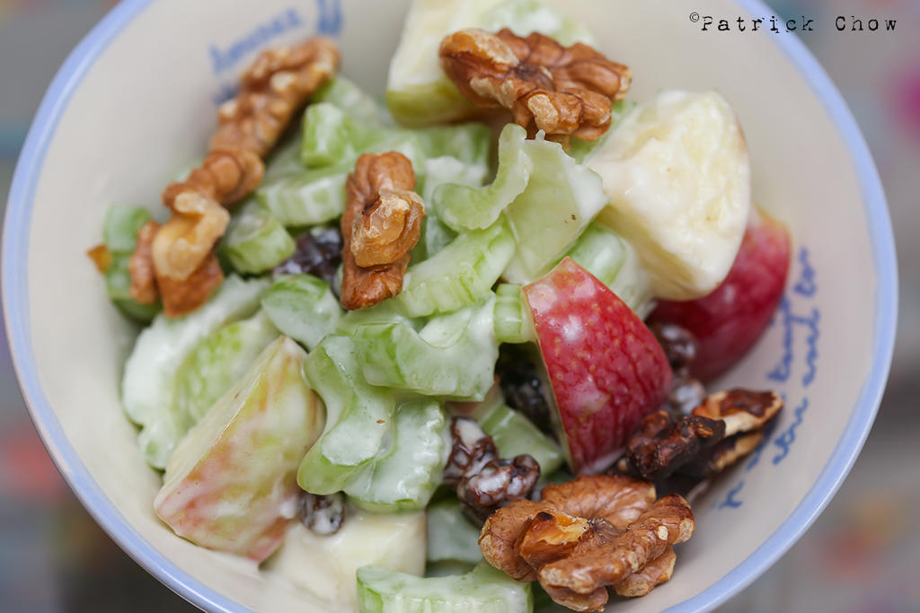 Waldorf salad by patchow
