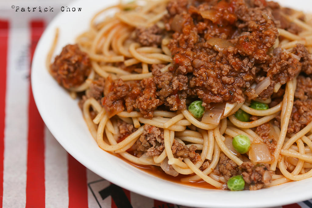 Beef bolognese spaghetti 1 by patchow