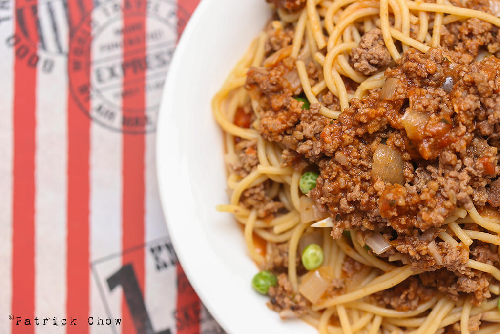 Beef bolognese spaghetti 2 by patchow