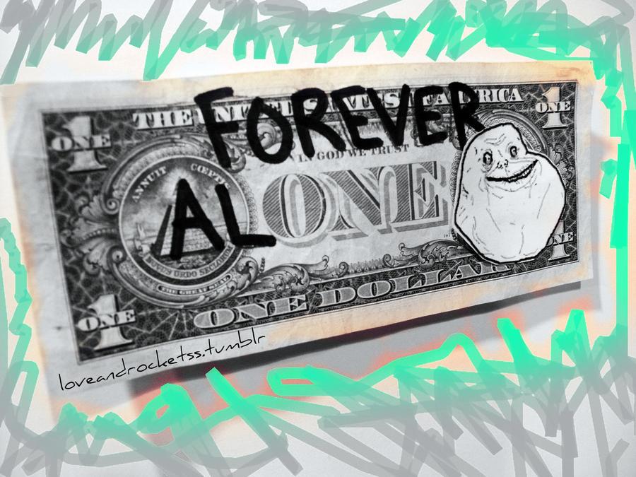 Batallitas. - Página 4 Forever_alone_by_cupcakelovie-d2z0958