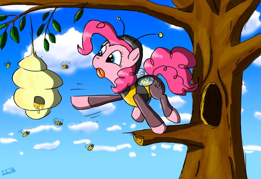 Pinkie-Bee by JunkieKB