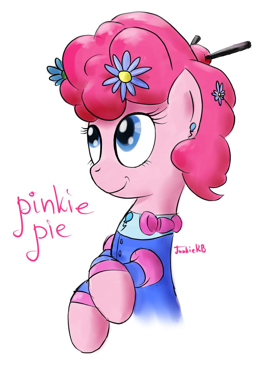 Pinkie Portrait by JunkieKB