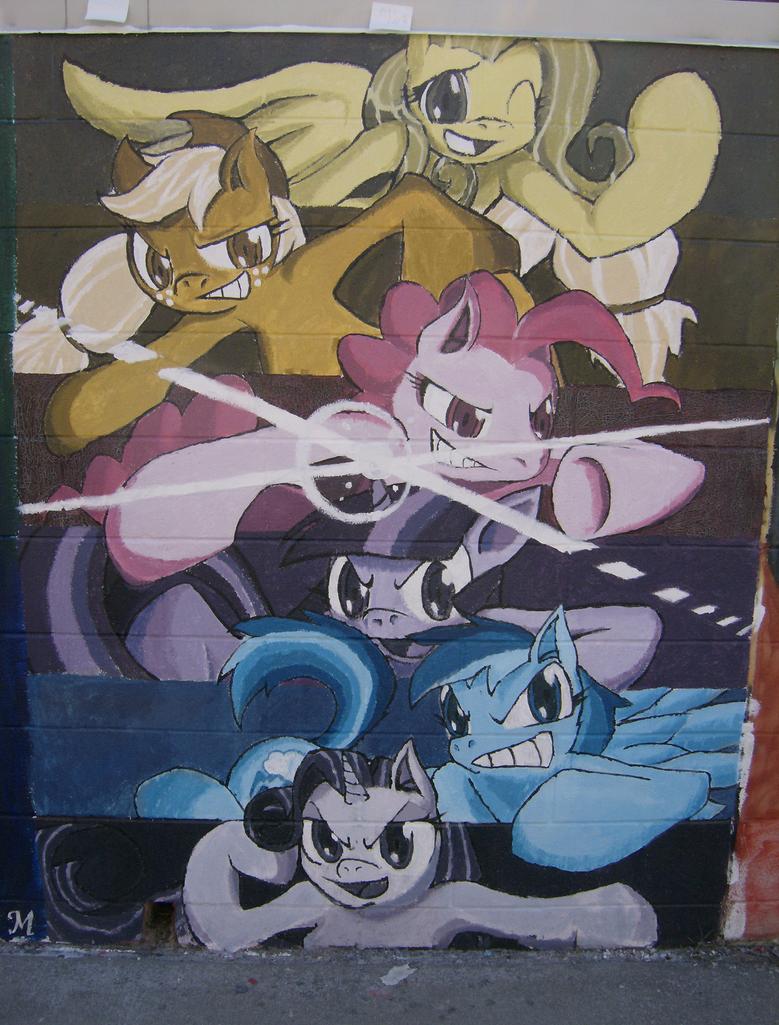 Pony Graffiti by Ripfrost