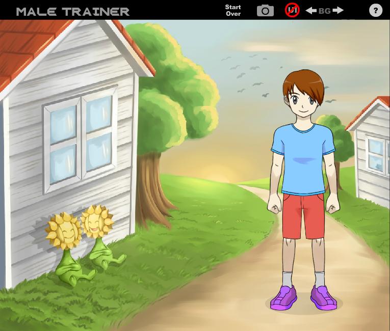 Me as a Pokemon Trainer! by MiitopianOliveDA