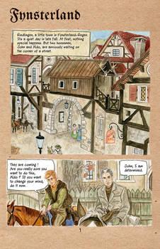 Fynsterland page 1