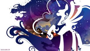 Luna Silhouette Wall - White