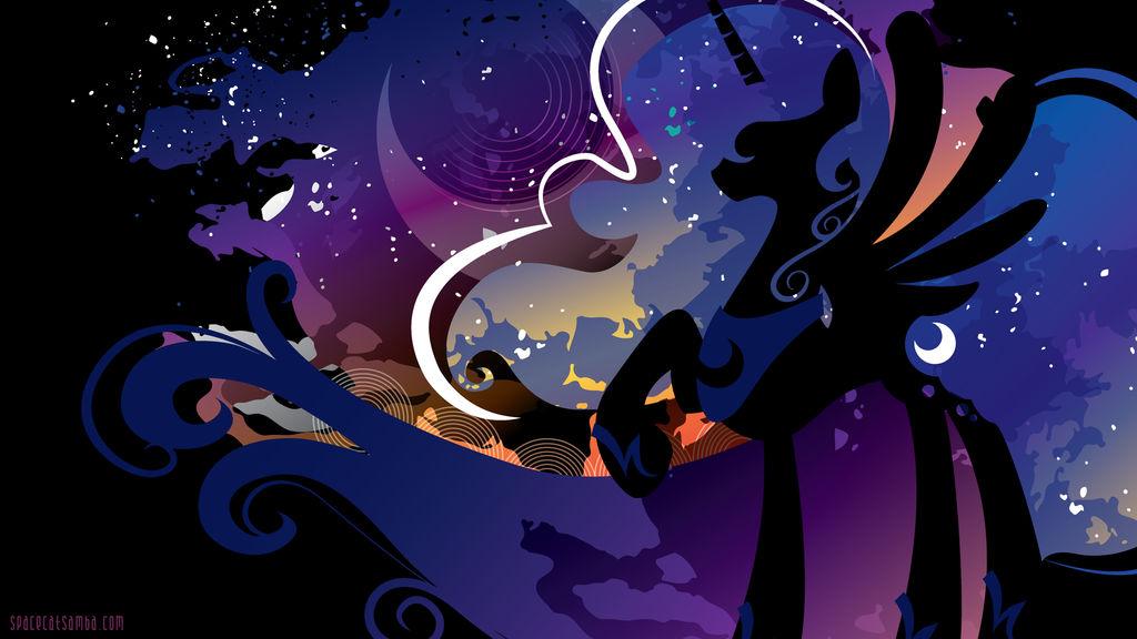 Luna Silhouette Wall - Black
