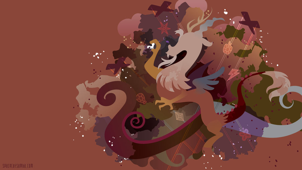 Discord Silhouette Wall